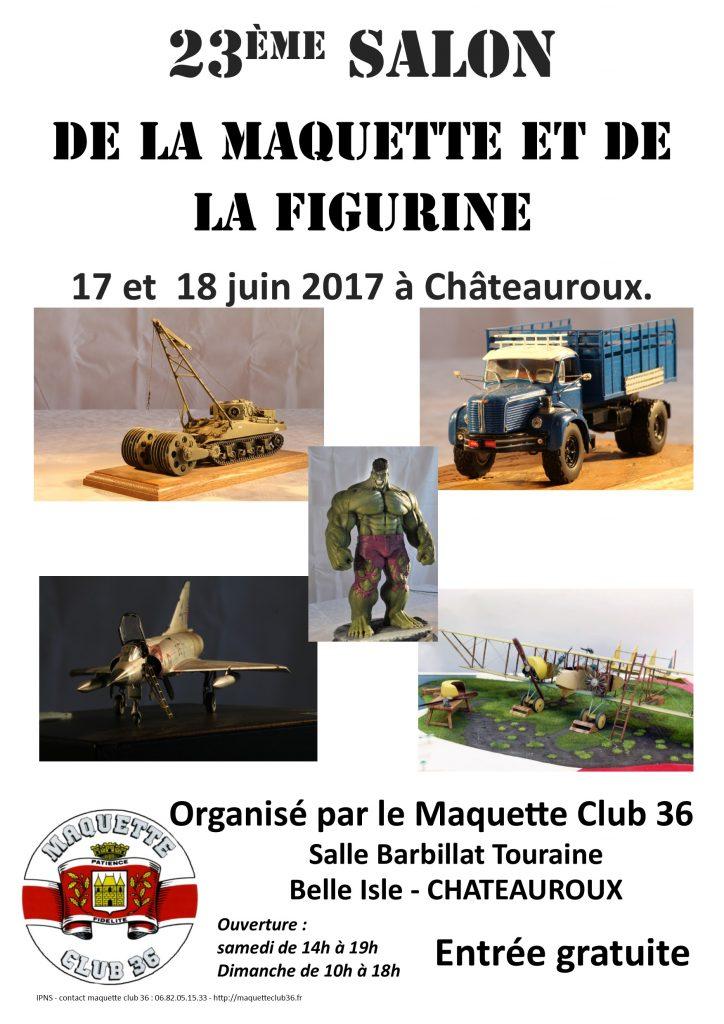 Salon de la maquette ch teauroux 36 17 18 juin 2017 for Salon de la maquette paris 2017